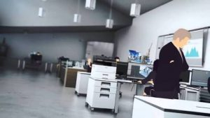 Mesin fotocopy kantor