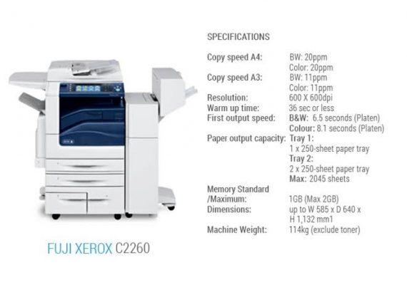 Sewa Mesin Fotocopy Fuji Xerox